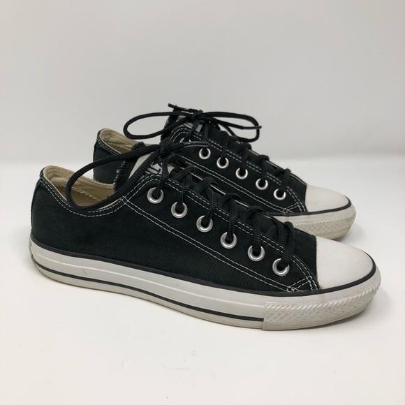 9cd8798d2578 Converse Shoes - Black Converse All Star Tennis Shoes Women s 8